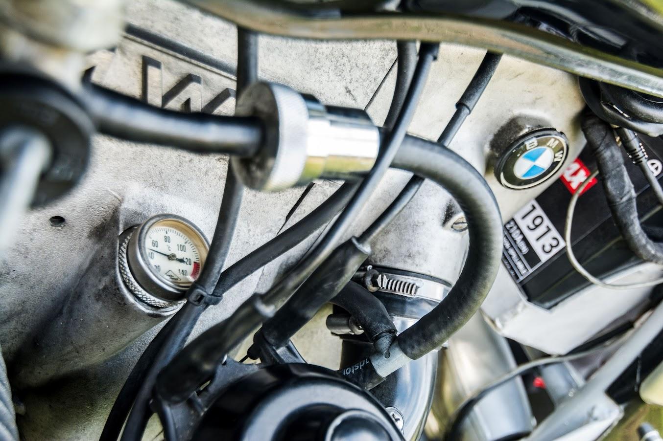 R 100 R BMW mit Rundluftfilter