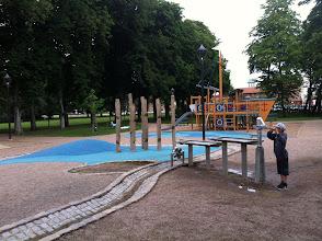 Photo: Legeplads på vej til Vattenriket