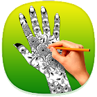 How to Draw Henna Tattoo icon