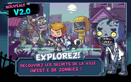 ZOMBIES ATE MY FRIENDS  captures d'u00e9cran 1