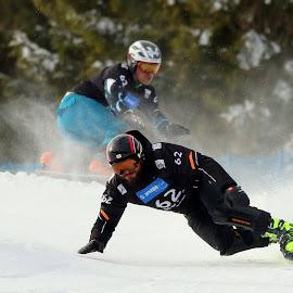 Paralle giant slalom race by Igor Martinšek - Sports & Fitness Snow Sports ( rogla slovenia, fis snowboard world cup 2018, paralle giantl slalom race )