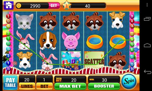 Pets 96% Version Slot Machine