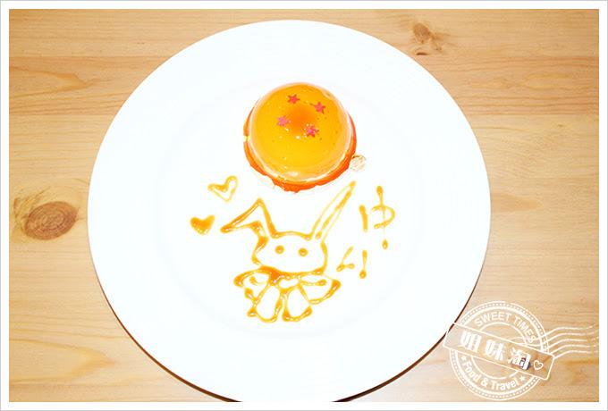 攝飲動漫主題餐廳四星珠蛋糕