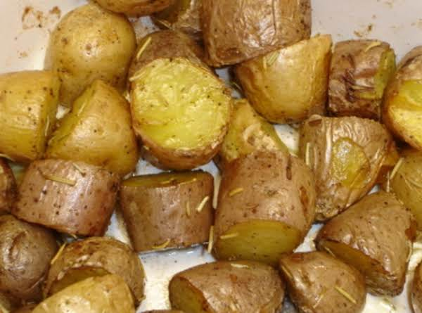 Baby Potatoes With Rosemary Recipe