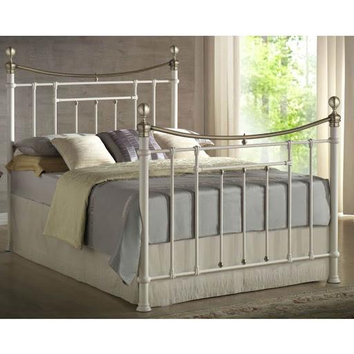 Birlea Bronte Bed Frame Cream
