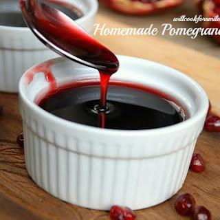 Homemade Pomegranate Syrup {recipe}