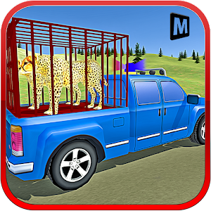 Police Truck Transport Animals for PC and MAC