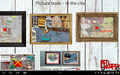 Picture book - In the city
