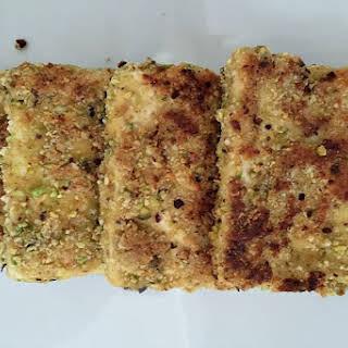 Pistachio Almond Tofu [Vegan, Gluten-Free].