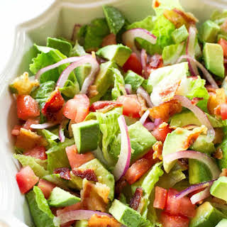 Guacamole Tossed Salad.