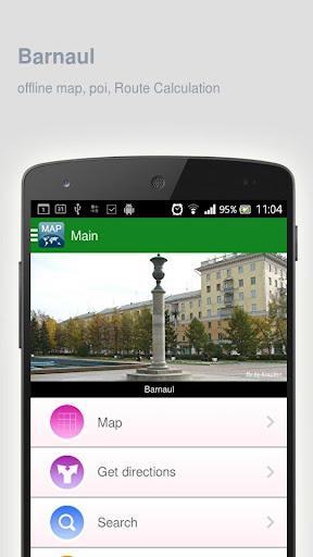 Barnaul Map offline
