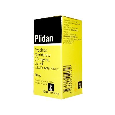 Propinox Plidan 10 mg/mL Solución Gotas x 20 mL