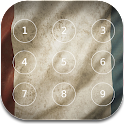France Flag password Lock icon