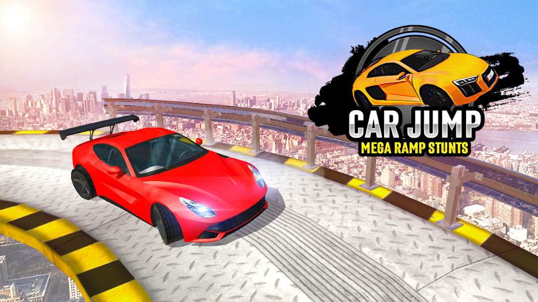 Car Jump: Mega Ramp Car Stunt Games