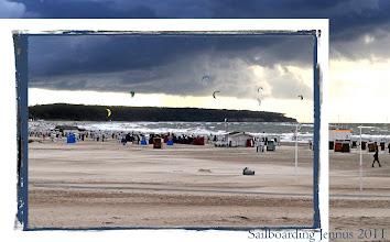 Photo: ideales Sailboarding für Weltcup bei Wetter, Wind und Wolken