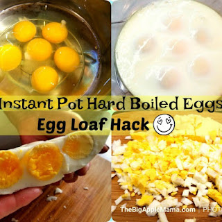 How to make Easy Instant Pot hard boiled eggs, No Peeling involved.