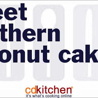 Sweet Southern Coconut Cake.