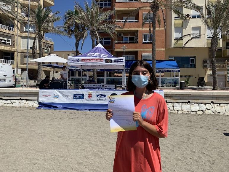 Lorena podrá disfrutar de una entrada gratis para Aqua Trópic de Almuñécar.