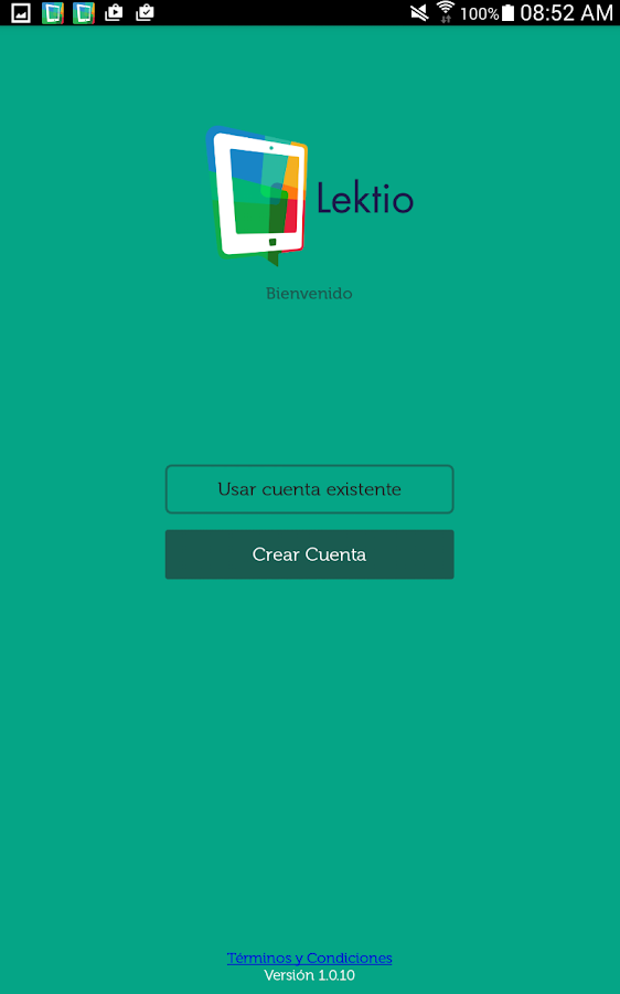 Lektio- screenshot