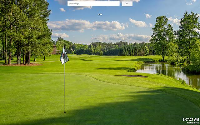 Golf Background Tab Theme