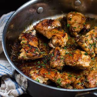 Skillet Chicken Thighs Recipes.
