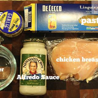 Instant Pot Chicken Alfredo.
