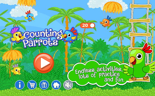 Counting Parrots 1 Free- screenshot thumbnail