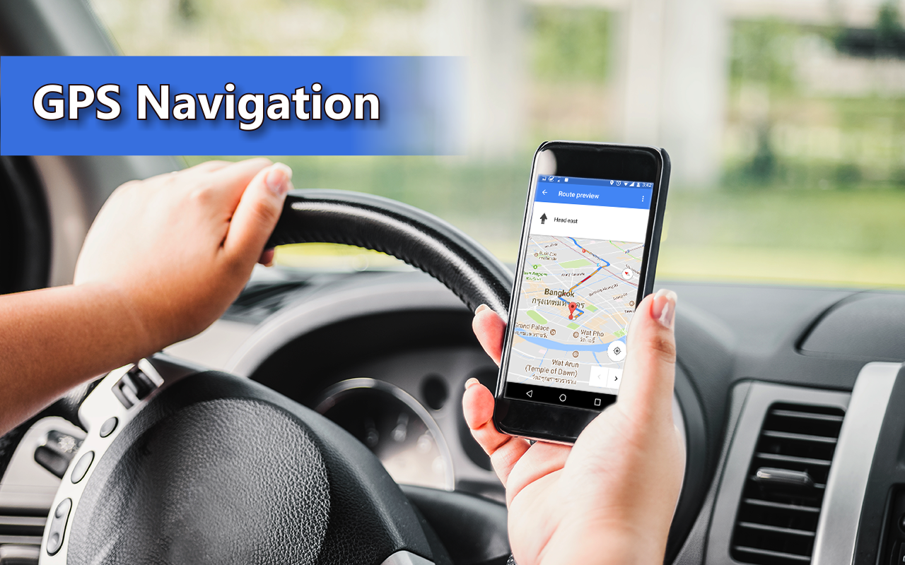 GPS Maps Navigation - Location Tracker- screenshot