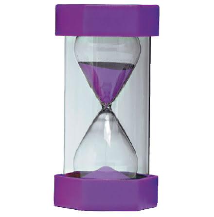 Timglas 15 min lila - 7763-897-1