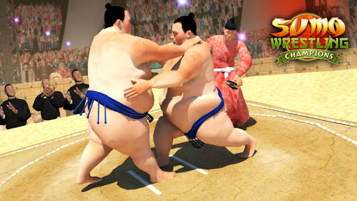 Sumo Wrestling Champions -2K18 Fighting Revolution