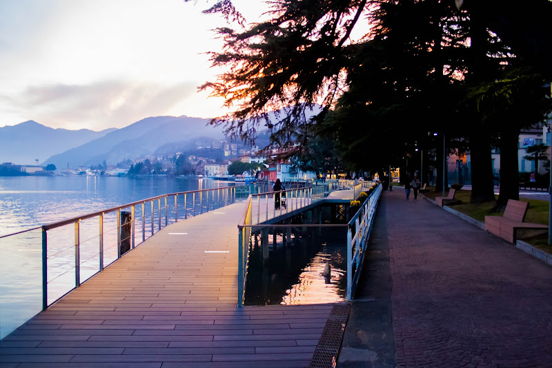 Passeggiata sul lago di lang_bart