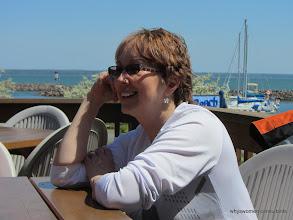 Photo: Gretta at the Tilt'n' Hilton