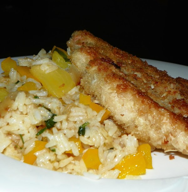 Coconut Chicken With Pineapple Fried Rice Recipe