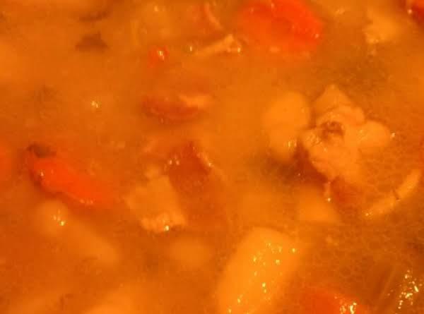 Mom's German Potato Soup Recipe