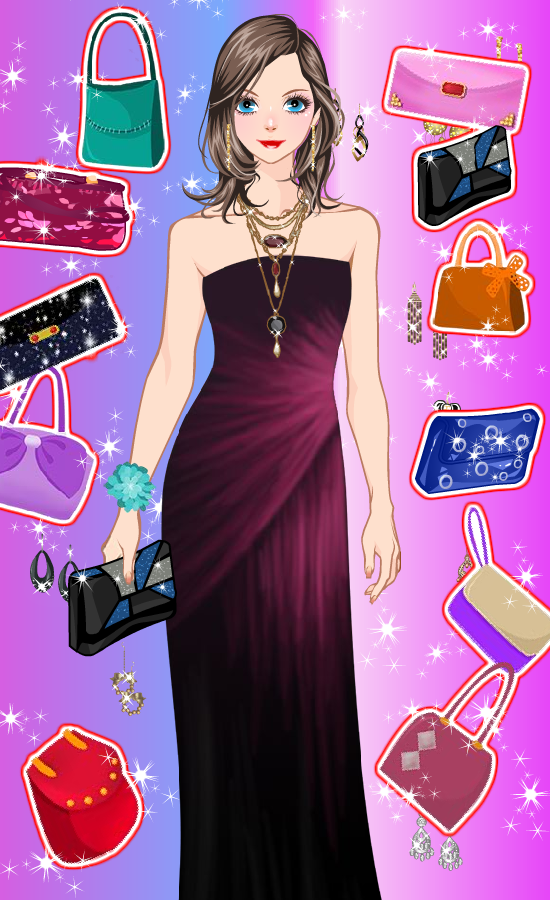 Elegant prom dress up games