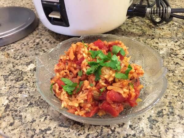 Not Authentic Spanish Rice