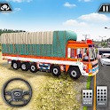 Real Euro Cargo Truck Simulator Driving Free Game icon
