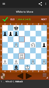Fun Chess Puzzles Pro (Tactics) 이미지[4]