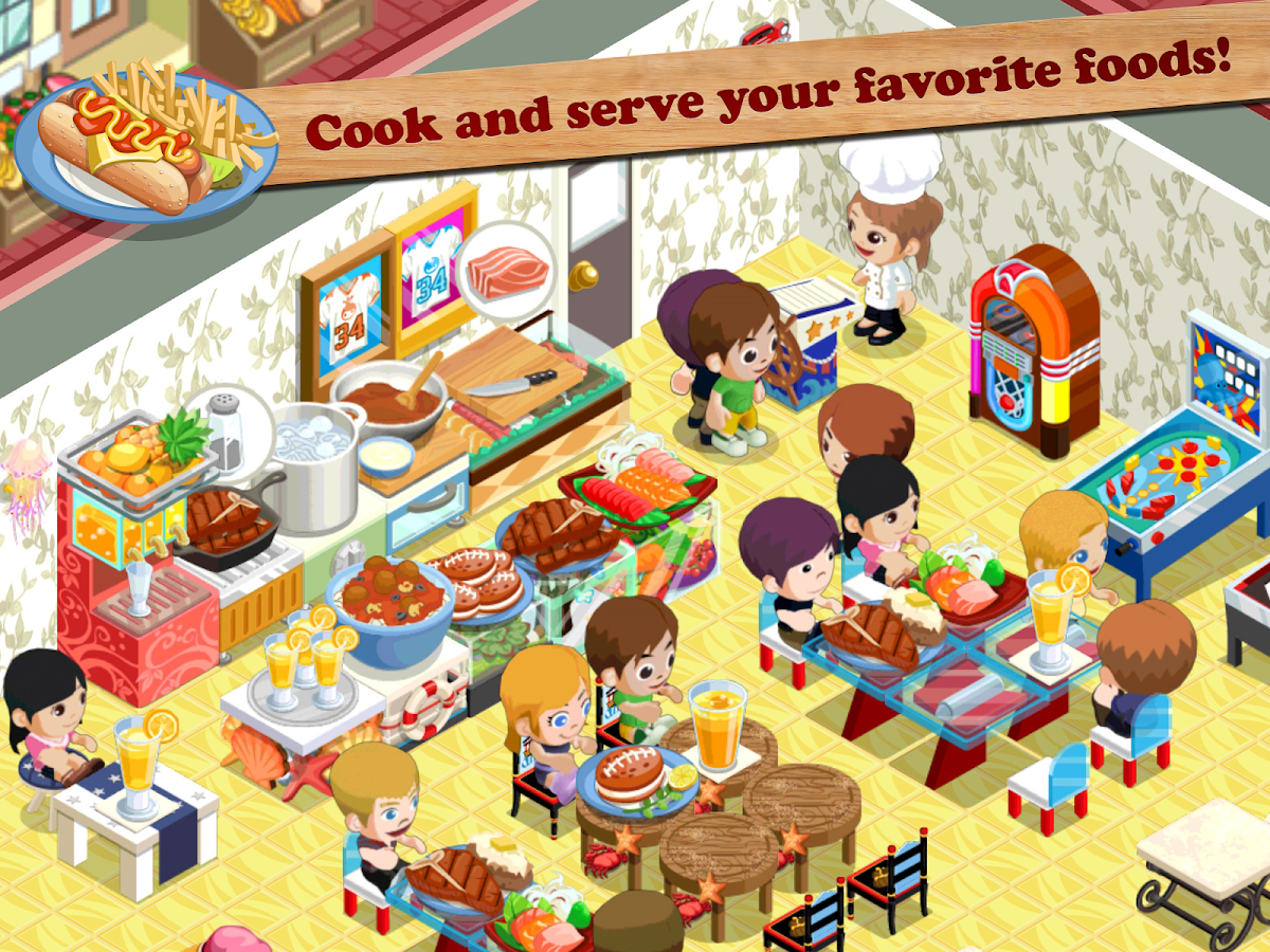Restaurant Story Food Lab Android Apps On Google Play