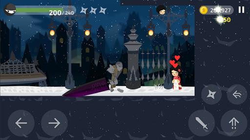 Ninja Knight game for Android screenshot