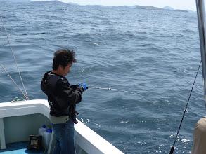 Photo: 「アラカブちゃーん! さあーおいでー!!」 ・・・青物を釣ってー!!