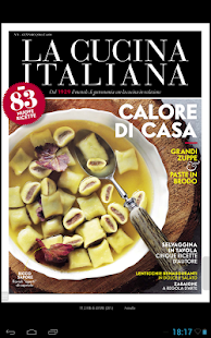 LA CUCINA ITALIANA screenshot