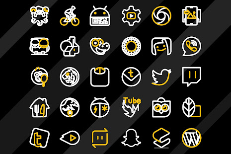 Lemon Line Icon Pack: LineX for PC / Windows 7, 8, 10 / MAC