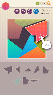 Polygrams - Tangram Puzzle Games Screenshot