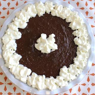 Silky Smooth Chocolate Cream Pie.