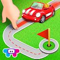 Tiny Roads - Vehicle Puzzles icon
