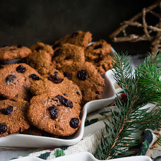 Cranberry Almond Cookies