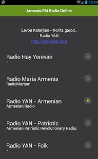 Arménie FM Radio Online - náhled
