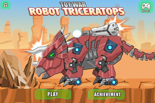 機器三角龍 - 組裝機器恐龍大戰
