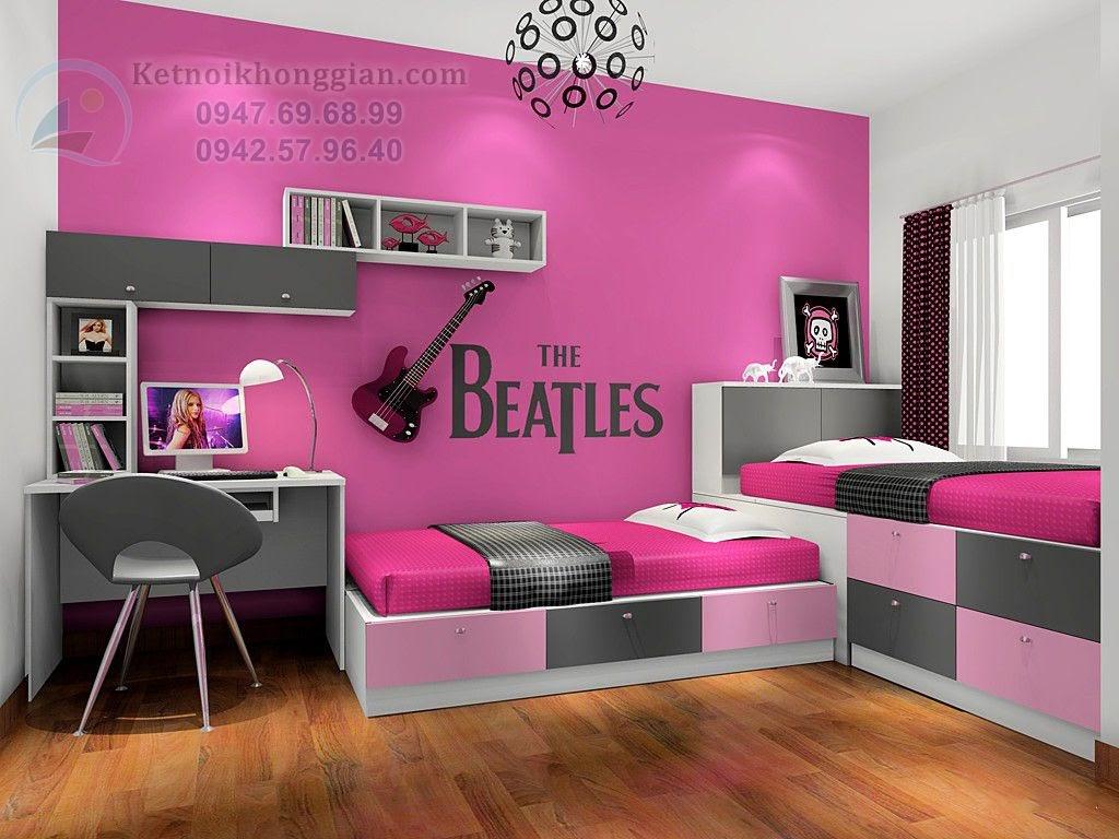 thiết kế phòng ngủ dễ thương